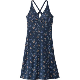 Patagonia Amber Dawn Dress Women quito multi/tidepool blue